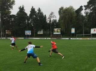 1. Ultimate Frisbee Turnier beim BSC